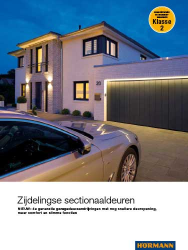 brochure zijdelingse sectionaaldeuren Hörmann