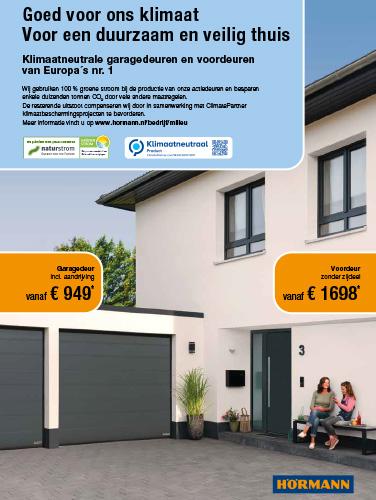 Brochure Hörmann Jaaractie 2021